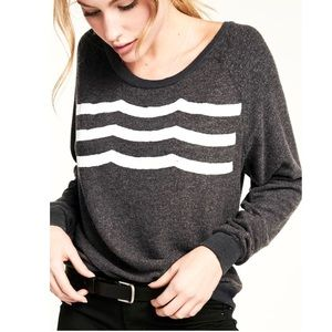 Sol Los Angeles Gray Hacci Wave Sweatshirt